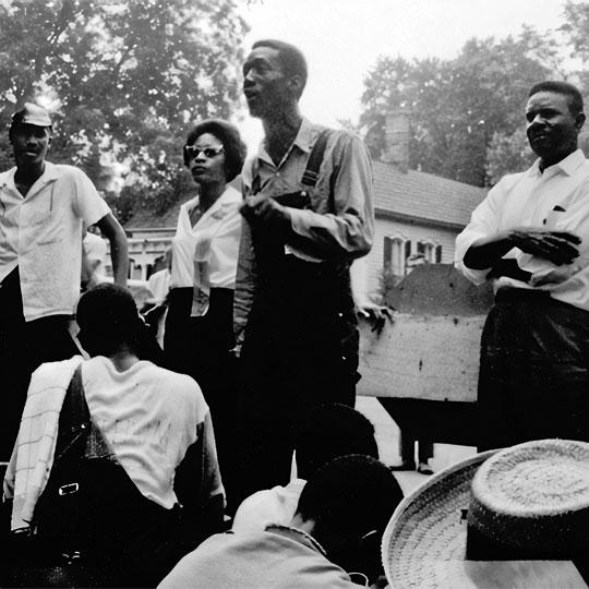 civil rights meeting